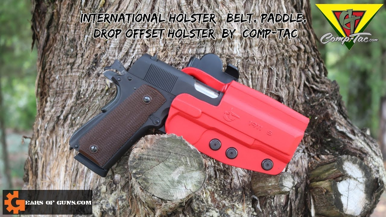Red Is The New Black - My new Comp Tac 1911 Holster