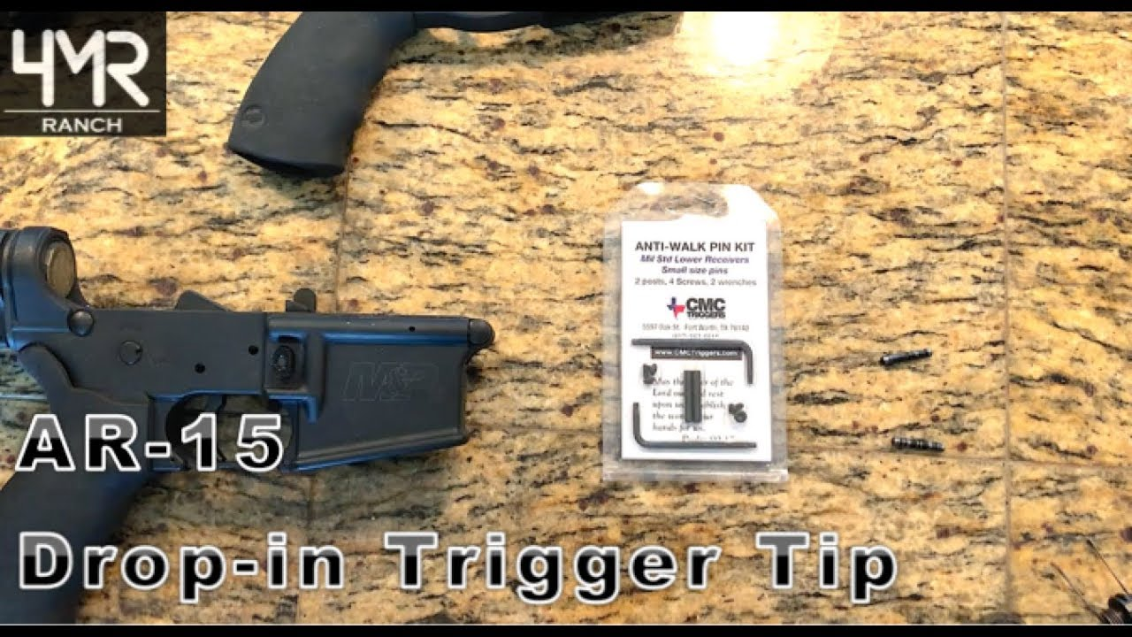 Why You NEED To Use Anti-Walk Pins In Your AR-15