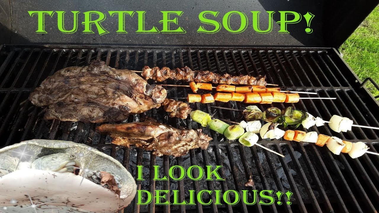 Turtle Soup, South Texas style! Wild Game Recipe!