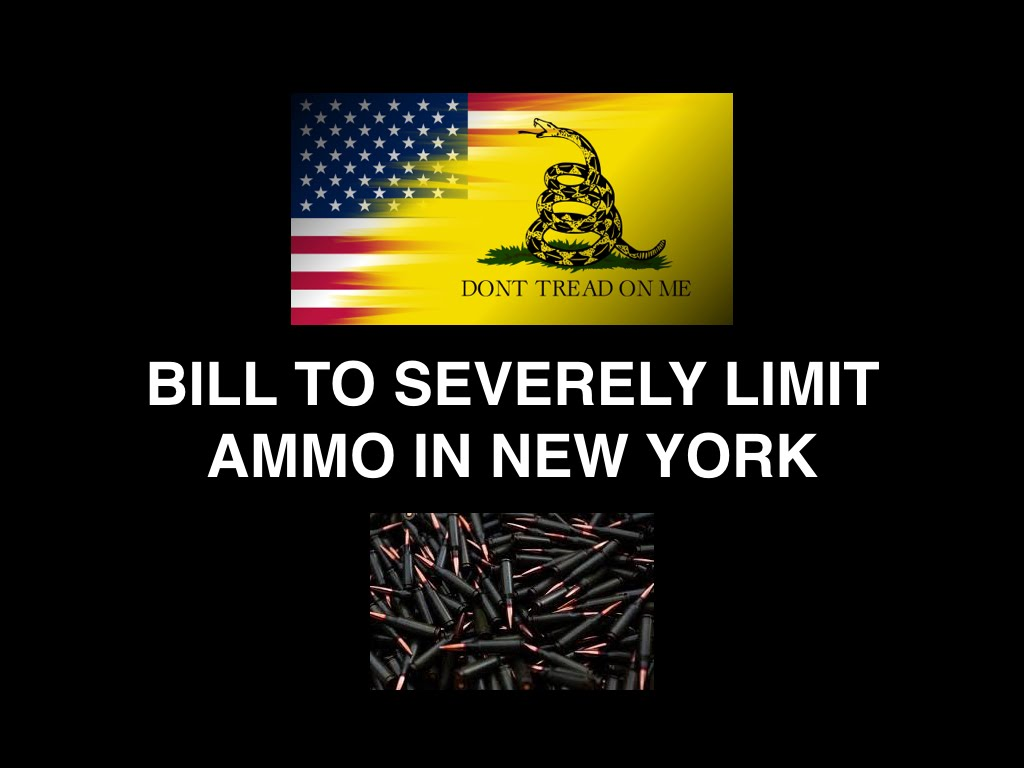 Bill To Severely Limit Ammo In New York