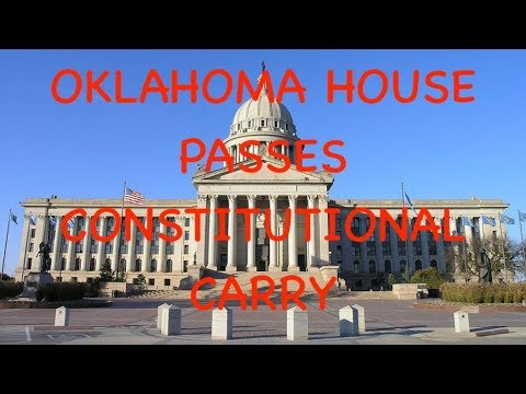 Oklahoma House Passes Constitutional Carry Bill