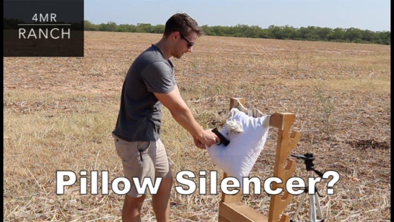 Do Pillows Really Silence Gunshots?