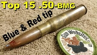 Top 15 (.50-bmg)  Unknown (Silver & Red tip)