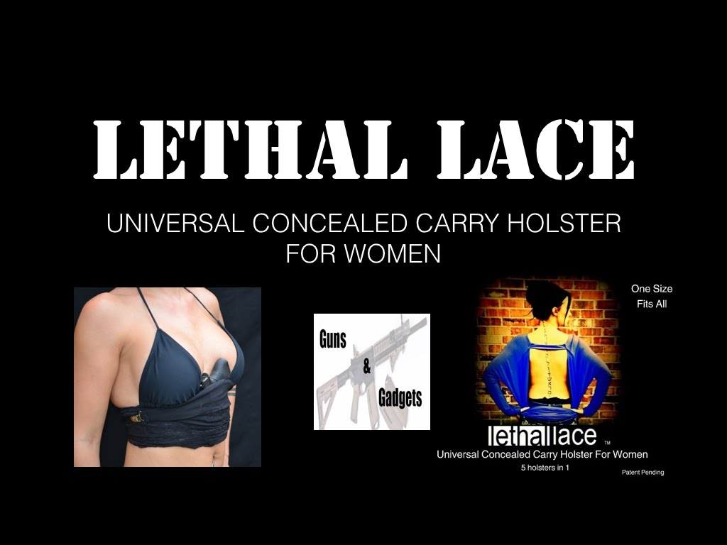 Lethal Lace: Concealed Carry Holster For Women GIVEAWAY