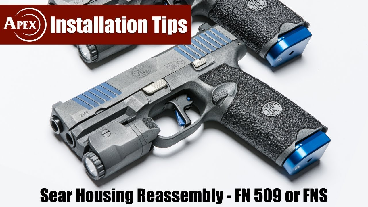How To Reassemble The Sear Housing Block of the FN 509