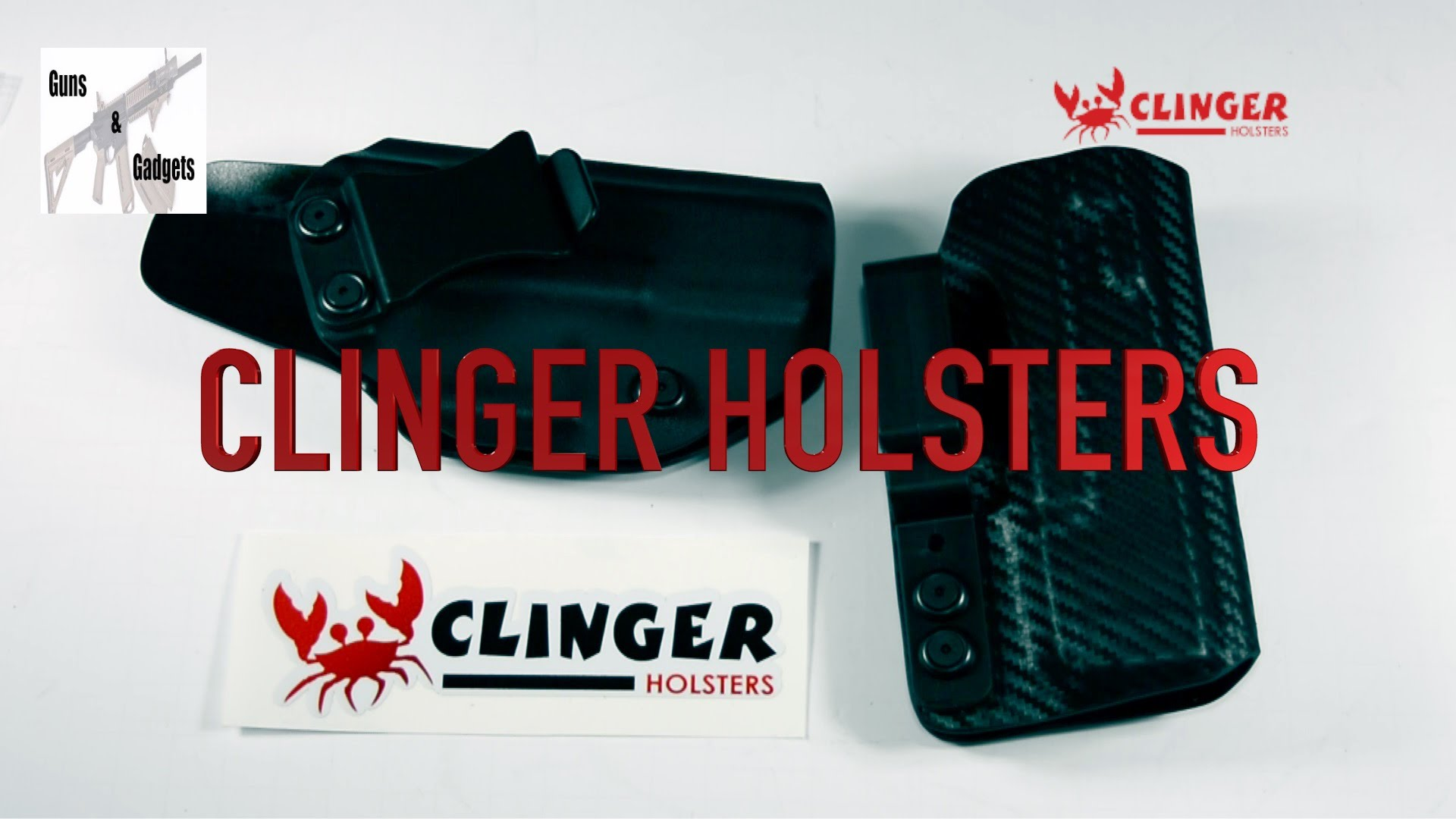 Clinger Holsters Unboxing: Atom & Stingray