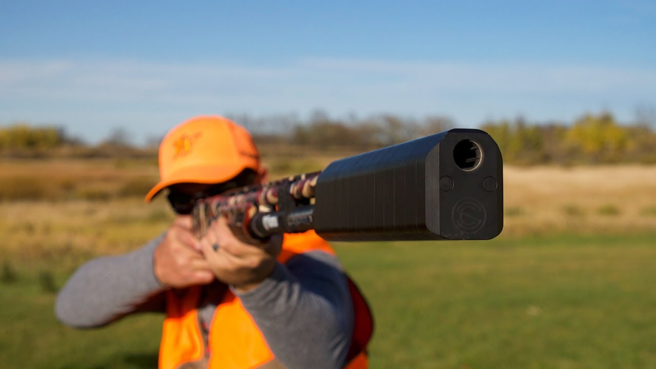 Hunting and Shooting Tests with Salvo 12 Shotgun Suppressor by SilencerCo | Gould Brothers