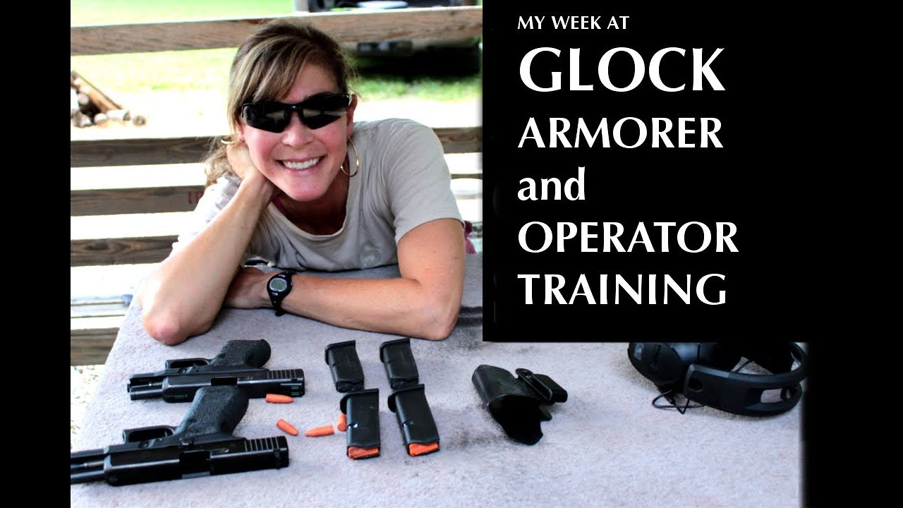 Lessons from my week at GLOCK Armorer and Operator Training