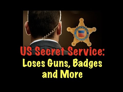 US Secret Service Loses Guns, Badges, and More