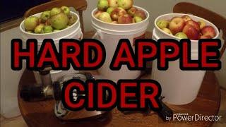 Making Hard Cider Apple Wine