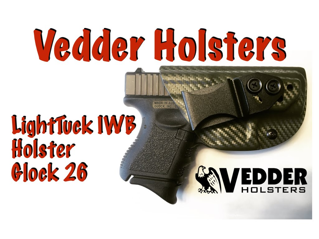 Vedder Holsters LightTuck IWB Holster for Glock 26
