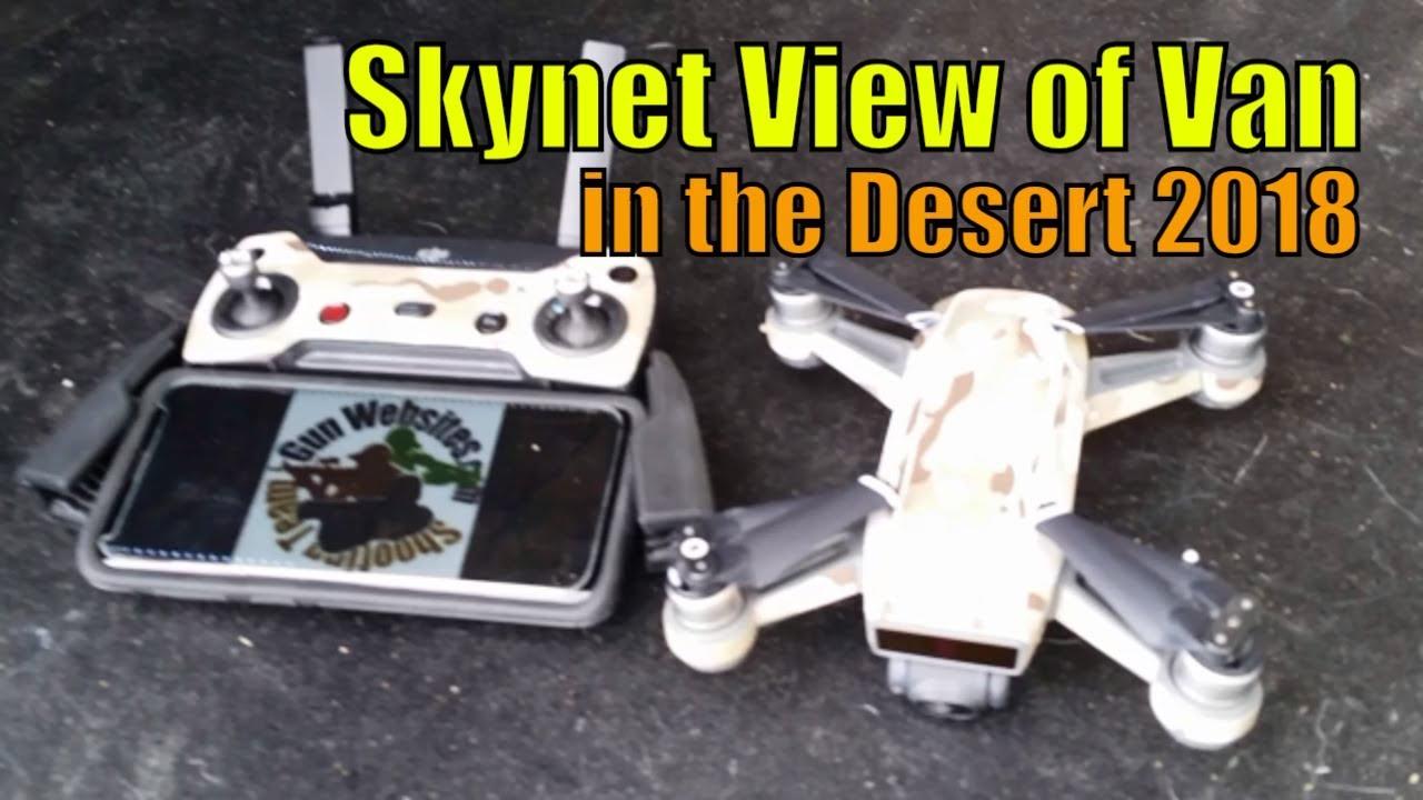 Skynet View of Van in the Desert 2018