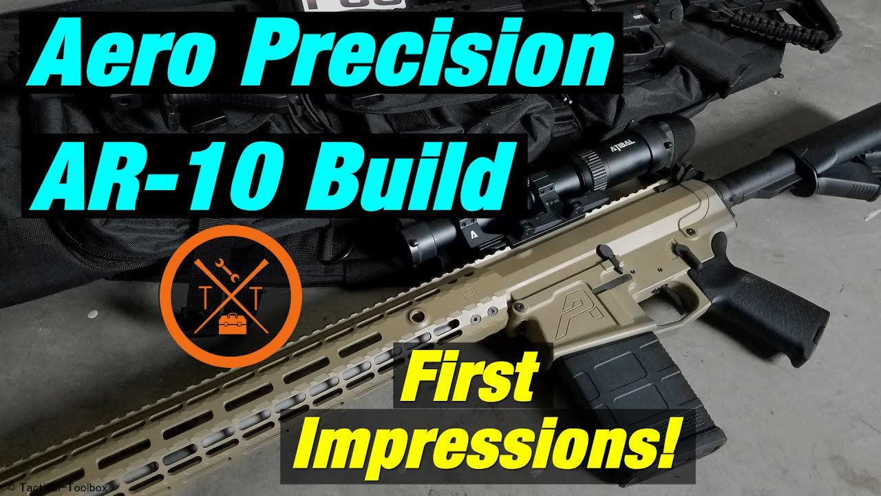 Aero Precision M5 E1 AR10 .308 Build!...(w/ Links & Codes)