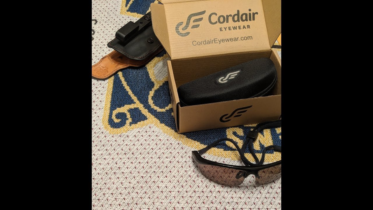 M-W Tactical Product Review -  Cordair Eyewear