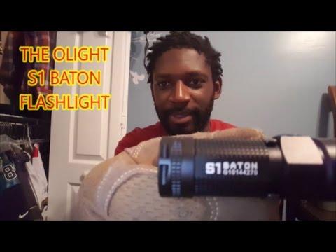 OLIGHT S1 BATON EDC FLASHLIGHT REVIEW  500 LUMENS!!!!!!