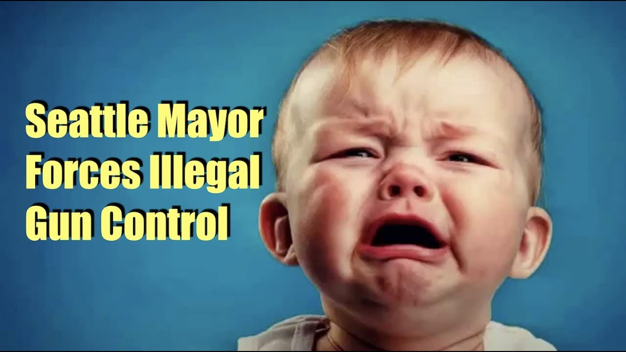 Seattle Mayor Blatantly Violates State Law...Because Gun Control