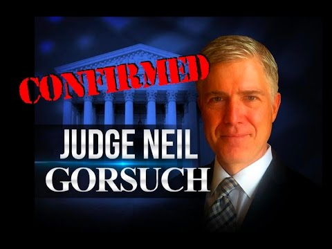 Judge Gorsuch To Join Supreme Court Friday