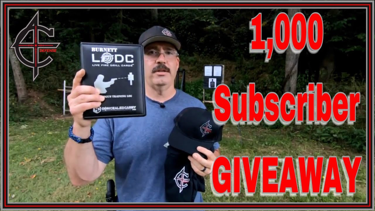 1000 Sub GIVEAWAY #c4defense #1000subcelebration Glock 34 Holosun 507C