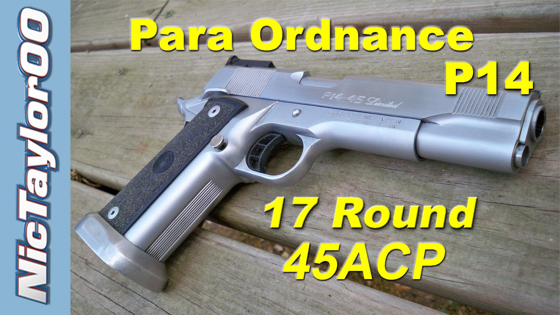 Para Ordnance P14 45ACP Limited Pistol for Competition (Review)