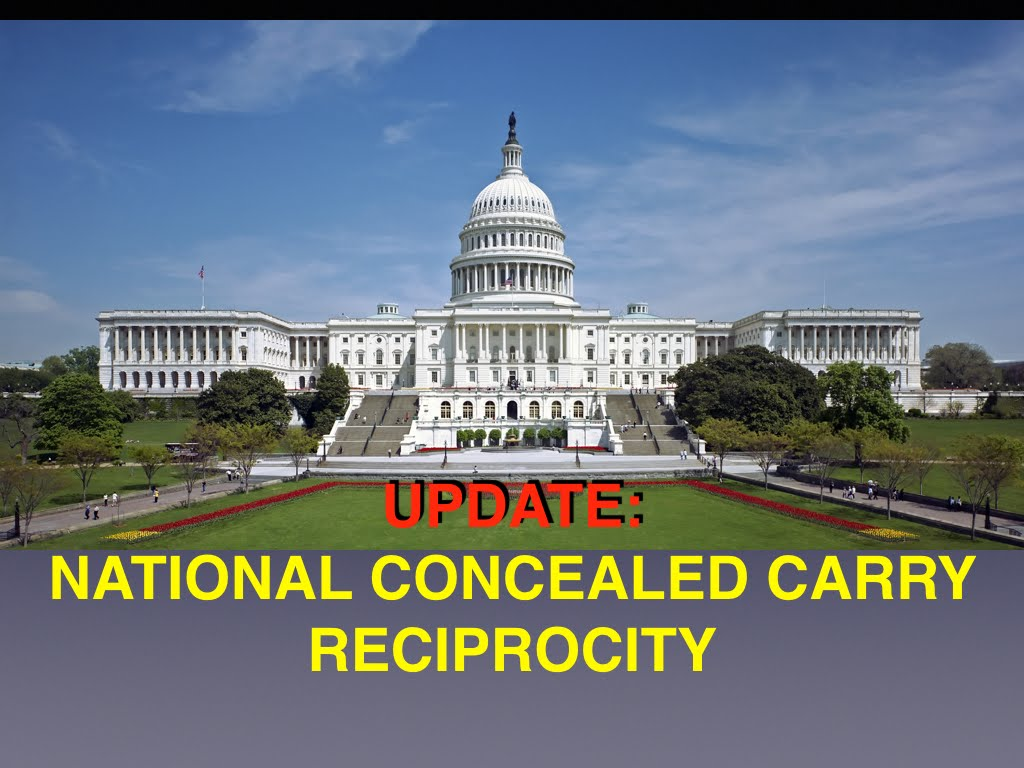 UPDATE: National Concealed Carry Recirpocity