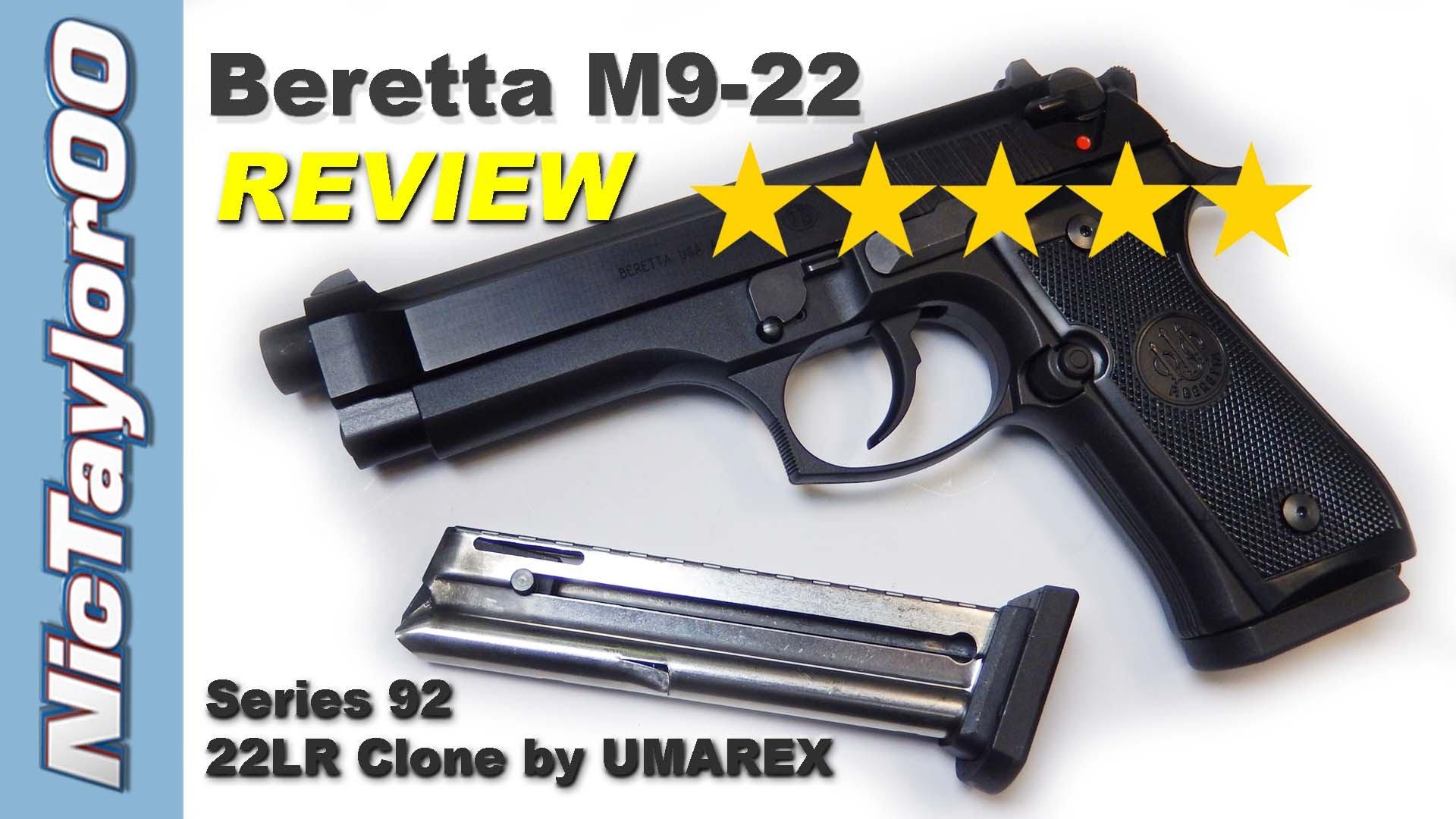 Beretta / Umarex M9 22LR Intial Review - 92 Series Pistol