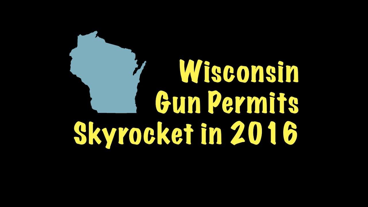 Wisconsin Gun Permits Skyrocket in 2016