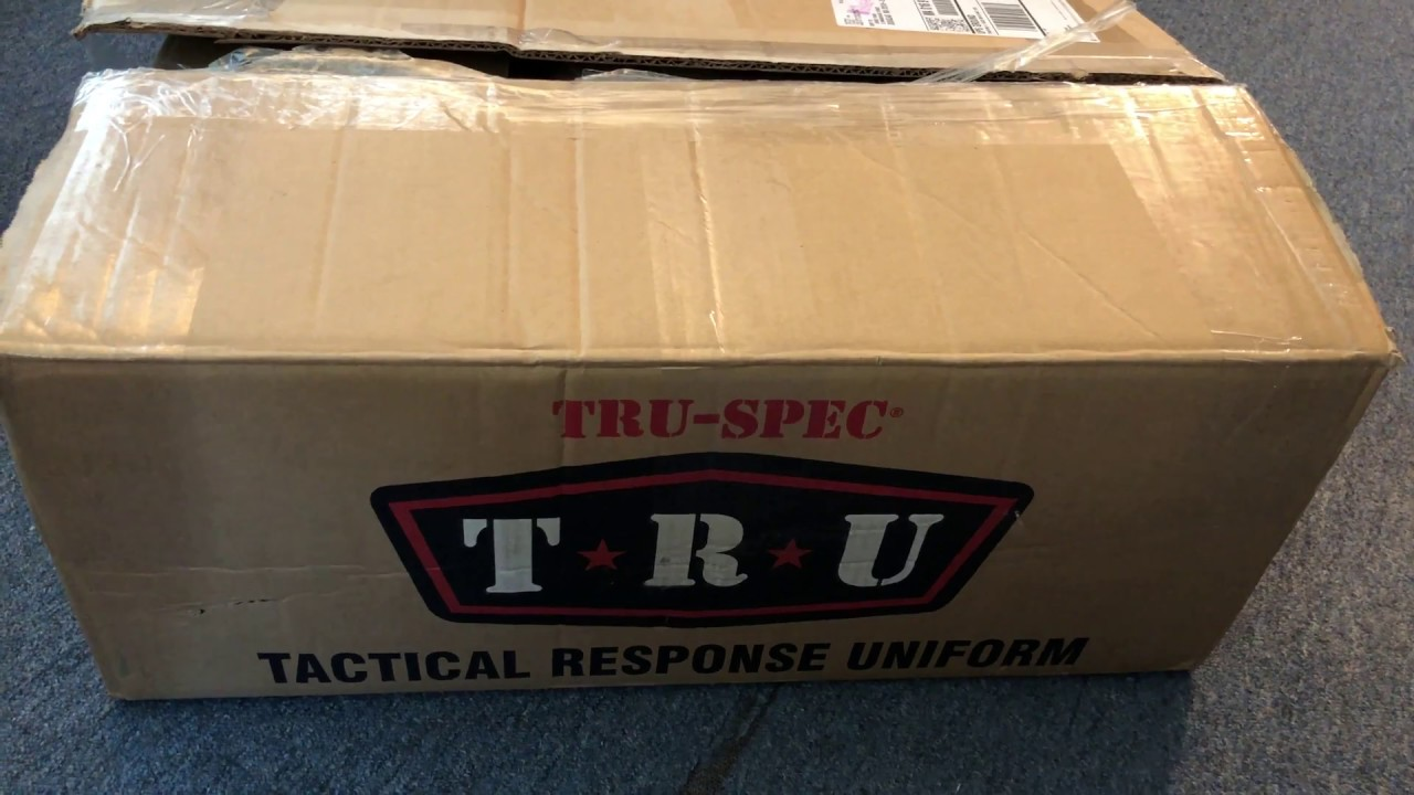 Unboxing a Surprise From TRU-SPEC