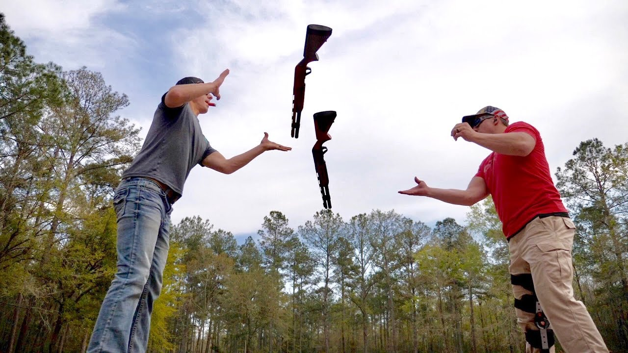 New Trick Shots for Live Exhibition Show | Gould Brothers