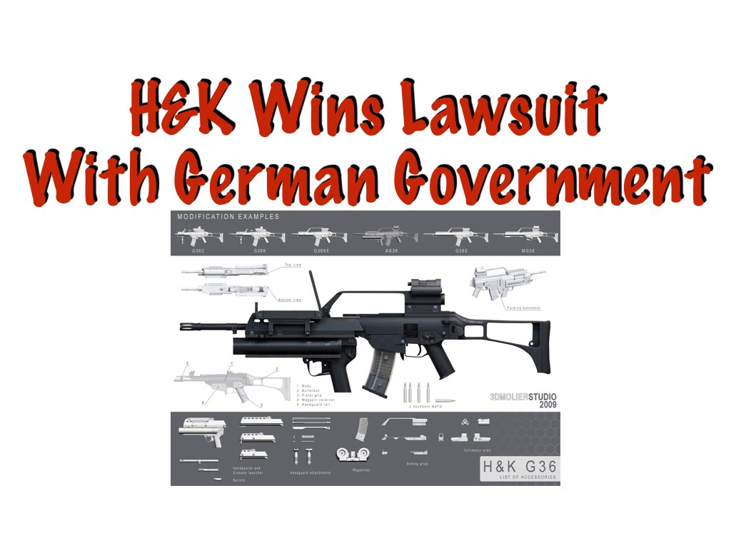 H&K Wins Lawsuit With Germany