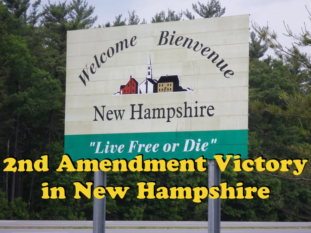 2nd Amendment Victory In New Hampshire