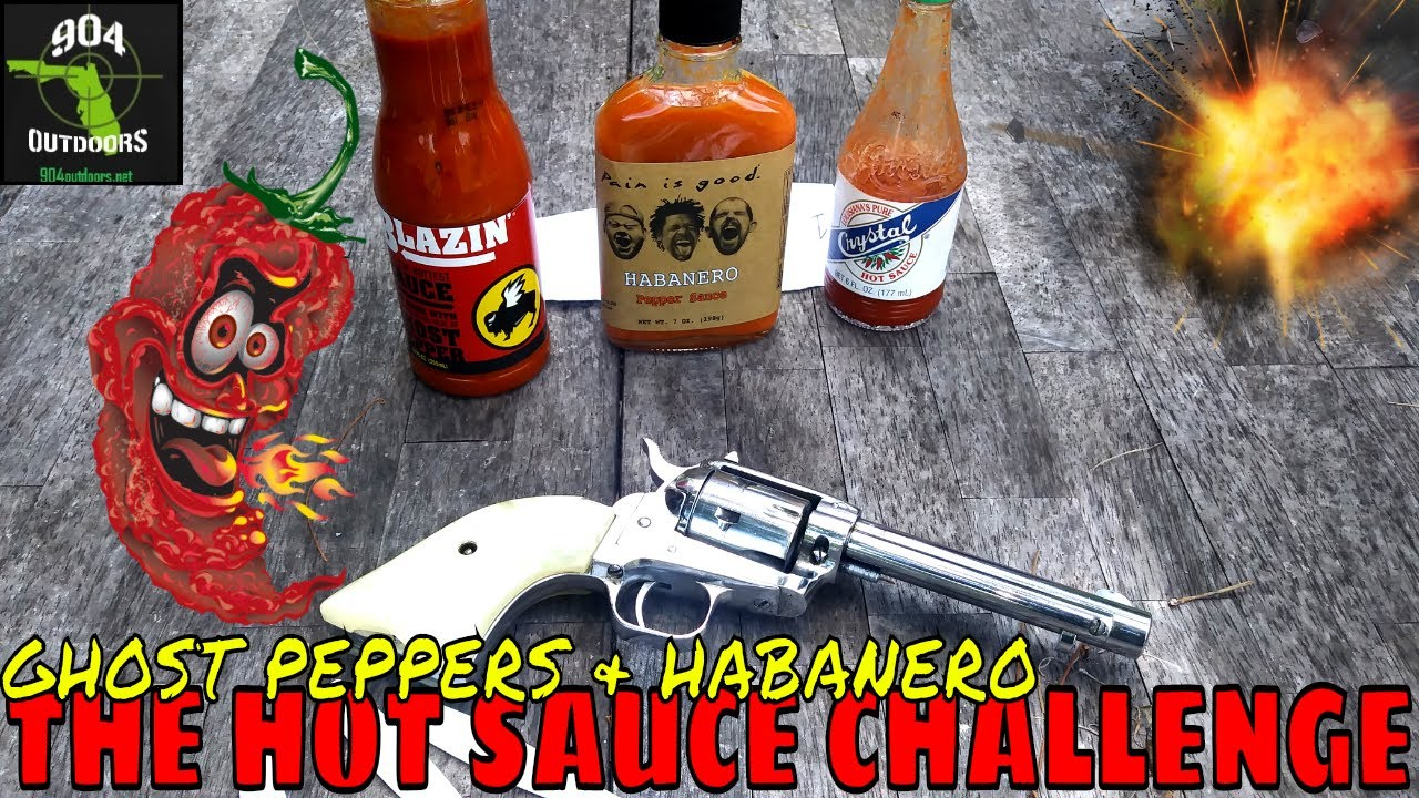 The Hot Sauce Challenge - Ghost Peppers - Habanero - And Fun!