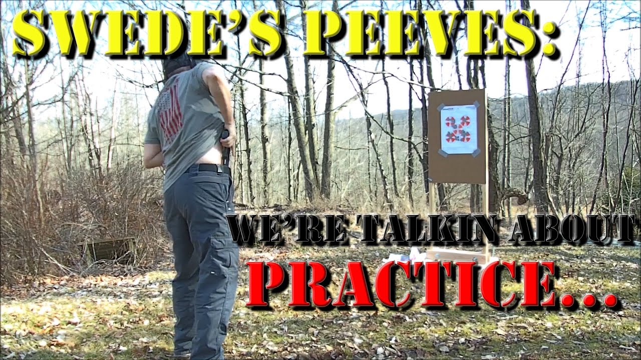 Swede's Peeves - EP3: Practice Drawing From Concealment (Re-issue)