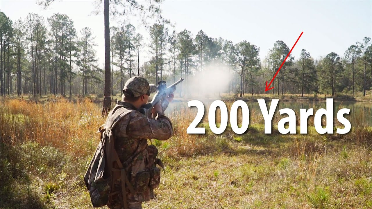 Shooting 200 Yards with a 12 Gauge Shotgun (Birdshot): Behind the Shot | Gould Brothers