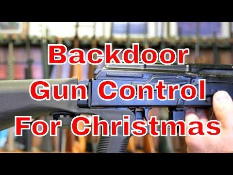 Backdoor Gun Control For Christmas
