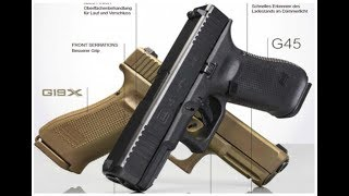 News and information about the new Glock 45 9mm Gen 5 pistol!!