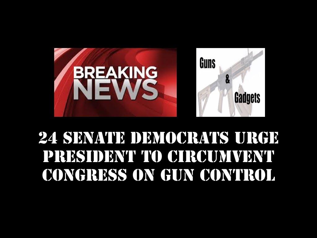 24 Senate Traitors URGE President to Break The Law