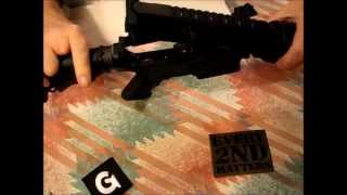 My AR-15 Build - #17 - Installing the BCG, charging handle and Magpul flip up rear sight