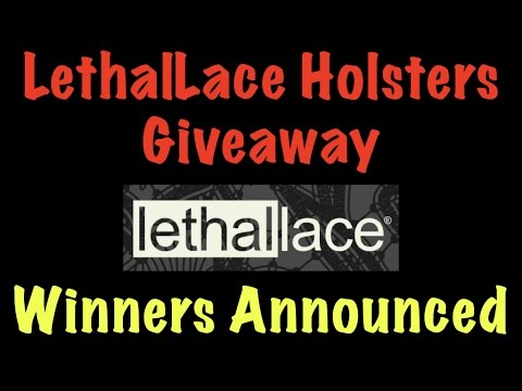 LethalLace Holster Giveaway Winners Announced