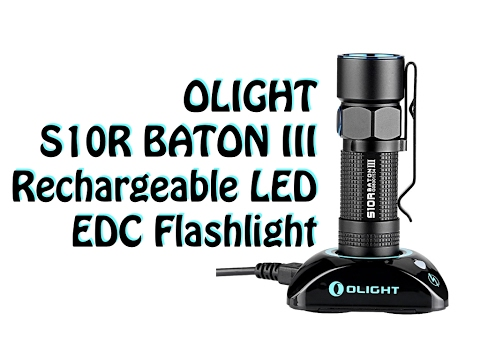Olight S10R Baton III Review