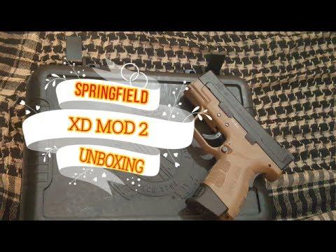 XD MOD 2 UNBOXING!!!!!