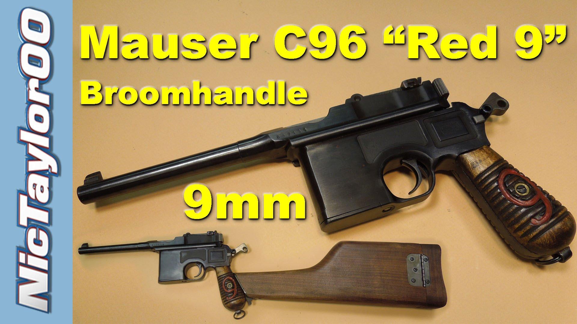 Mauser 9mm C96