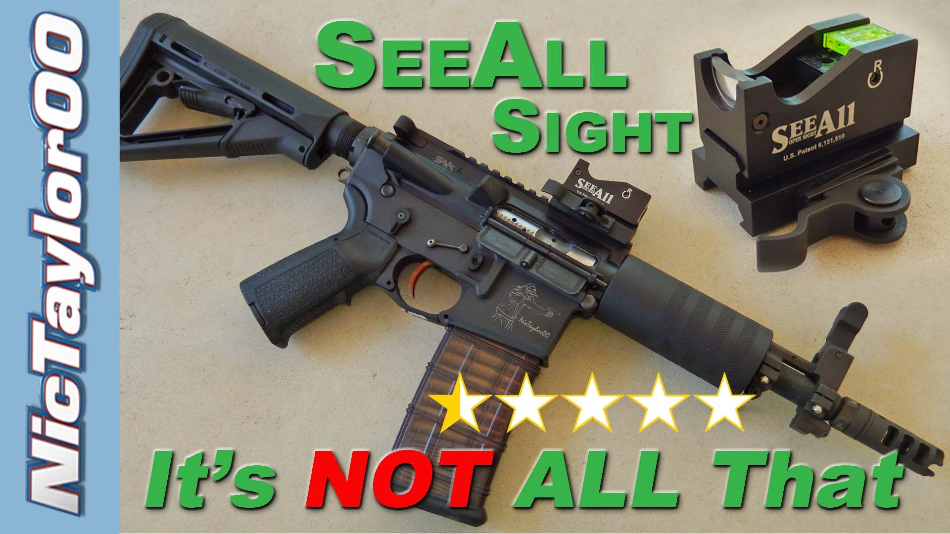SeeAll Sight - Is it Better than a Red Dot ?