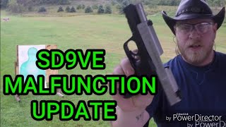 UPDATE Quickfix Smith&Wesson SD9VE Malfunction and failure.