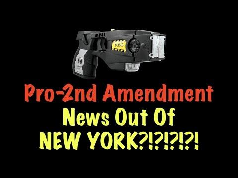 Pro-2nd Amendment News Out Of NEW YORK?!?!