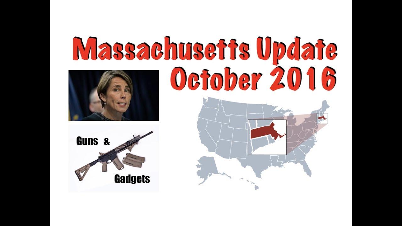 Massachusetts Update: October 2016