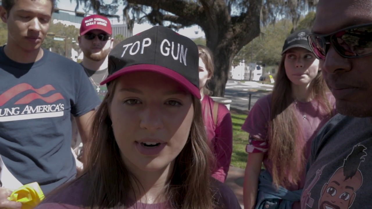 Young Americans For Freedom UF YAF at Rally in Tally