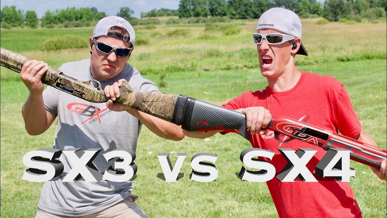 Winchester SX3 vs. SX4 Semi Auto Shotgun Review | Gould Brothers