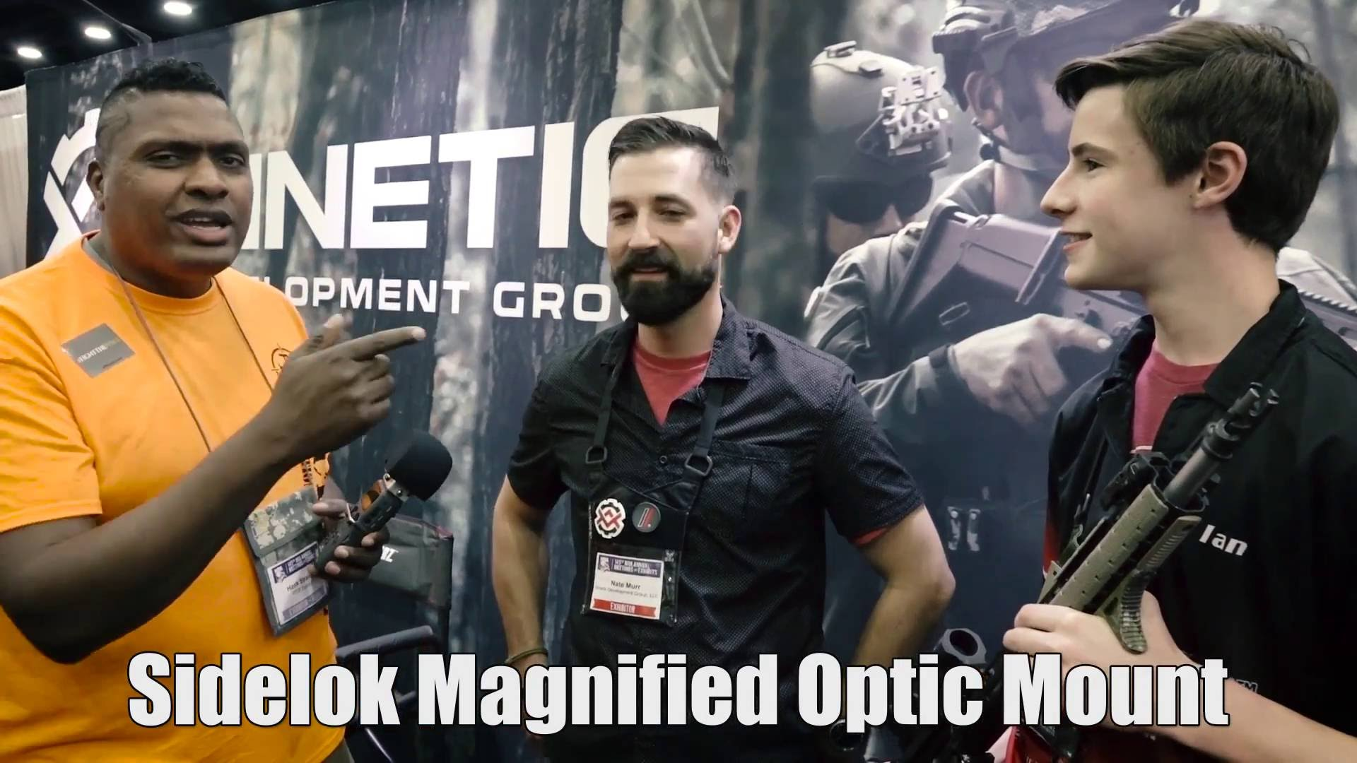 Sidelok Magnified Optic Mount NRA 2016
