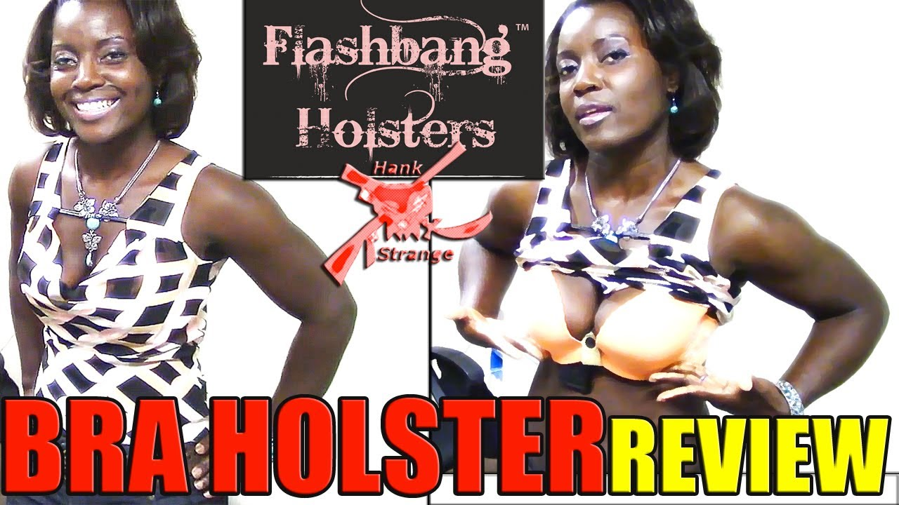 Original FlashBang Bra Concealed Carry Holster for Women Review & Demo with Lola & Hank Strange