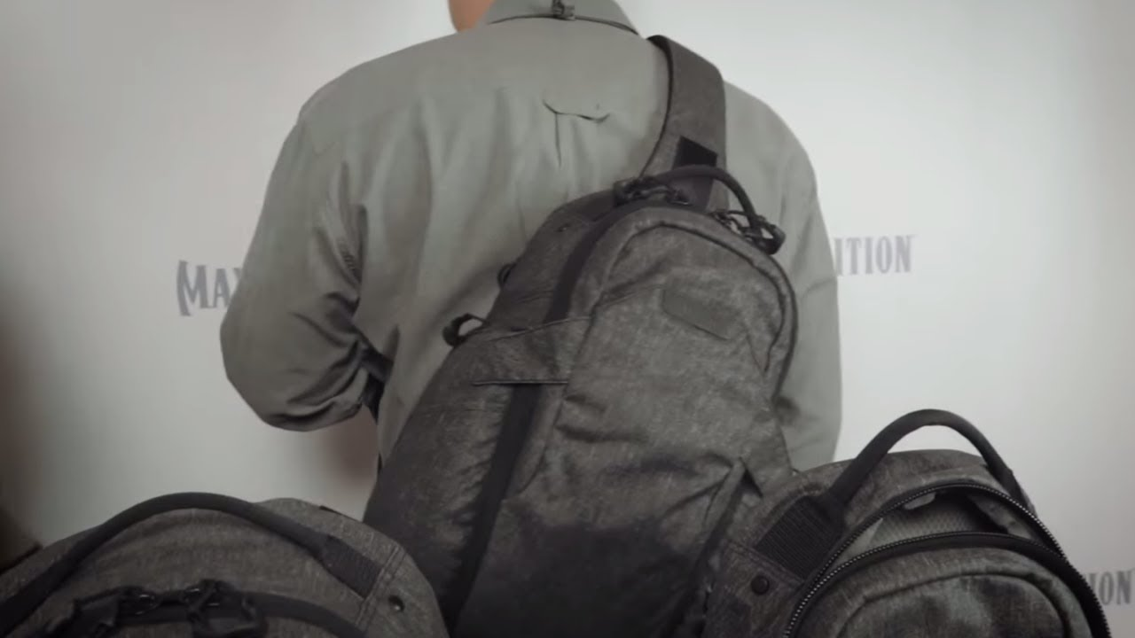 Maxpedition Entity Series of Gray Man Backpacks and Pouches